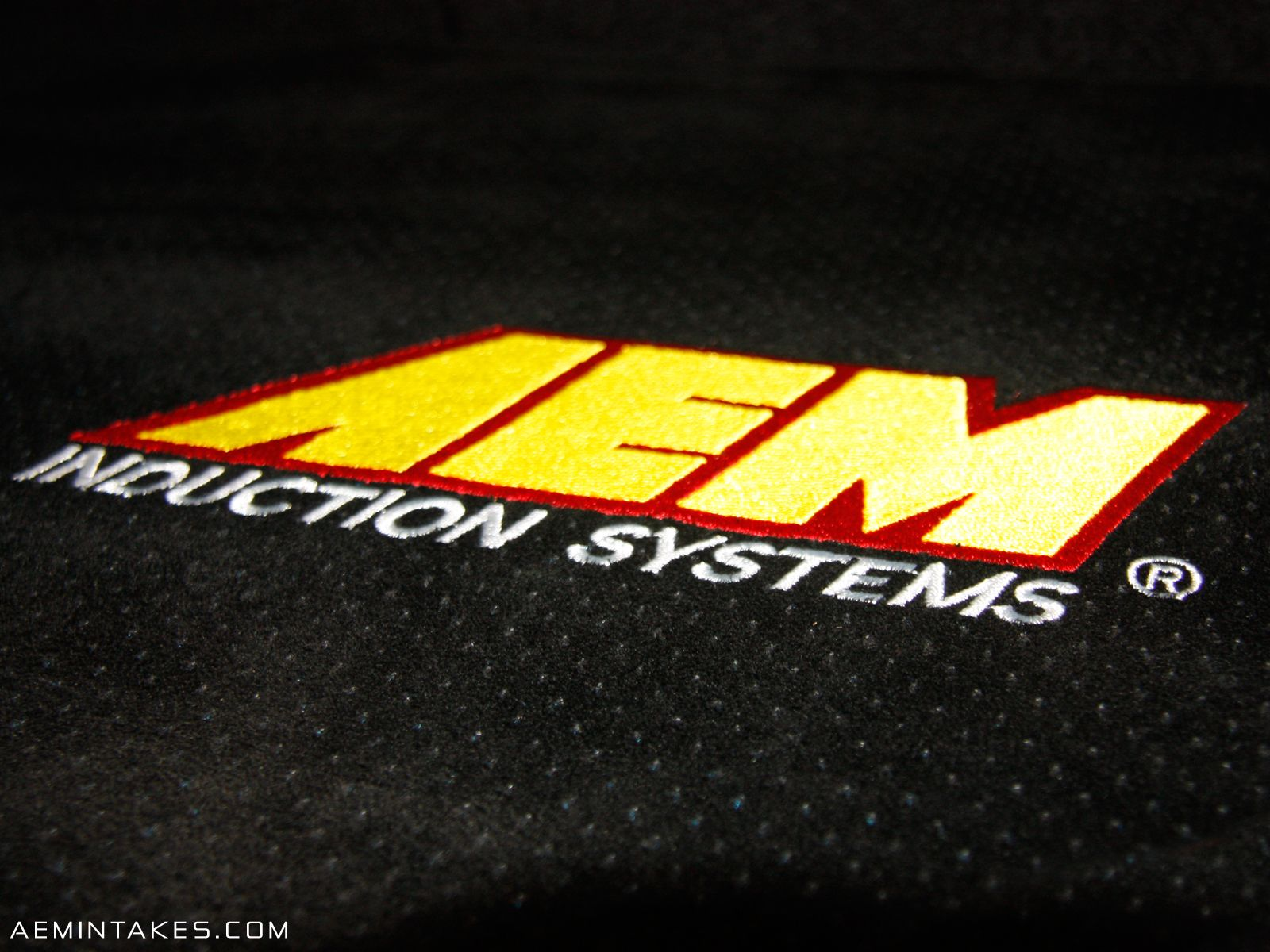 4 AEM STICKERS INTAKE  RACING DECALS
