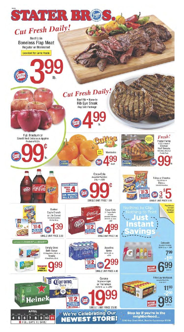 Stater Bros Weekly Ad Flyer September 25 October 1 2019 Weeklyad123 Com Weekly Ad Circular Grocery Stores Bakery Menu Grocery Weekly Ads