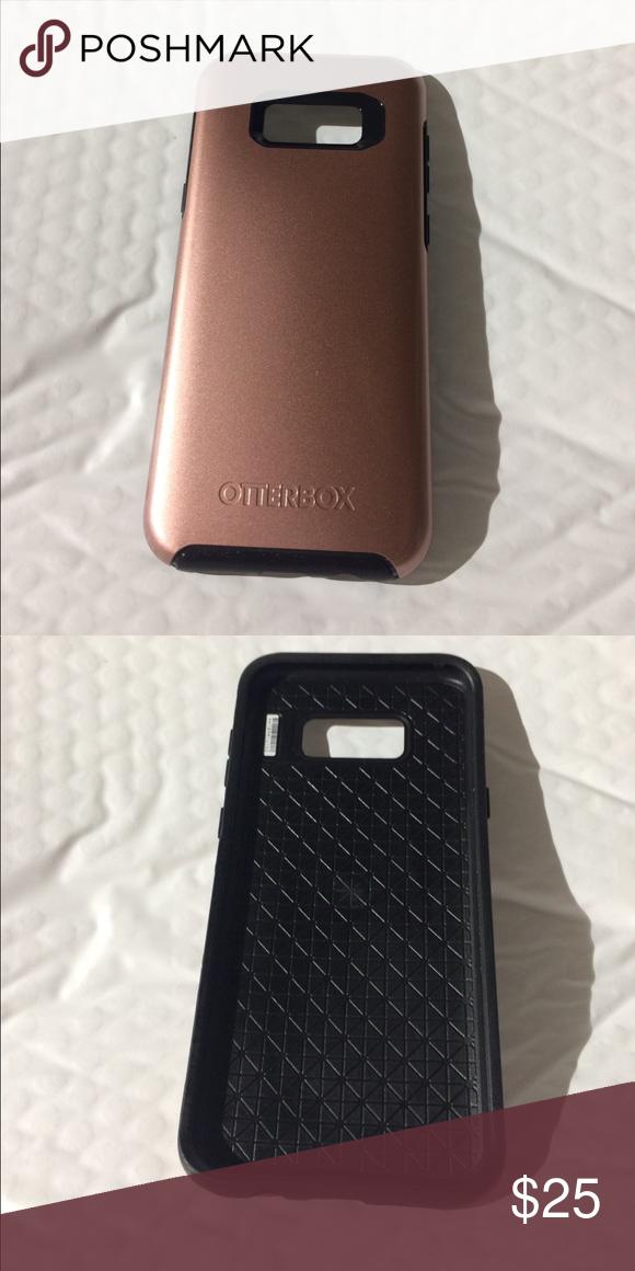 best website f384f 18587 Otterbox Rose Gold Case Samsung Galaxy S8+ Beautiful Metallic Rose ...