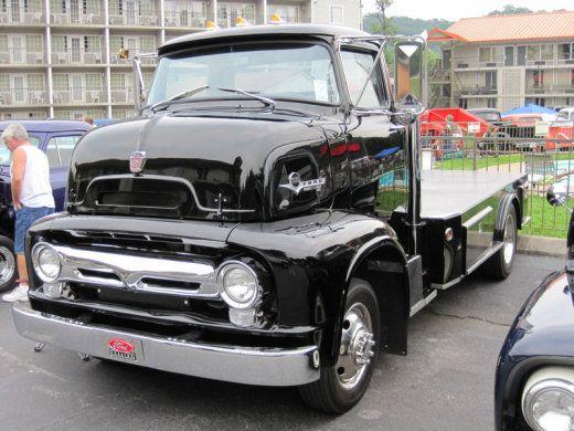 1954 Ford C500 coe cab over engine manufacturer sales flyer - car sale flyer