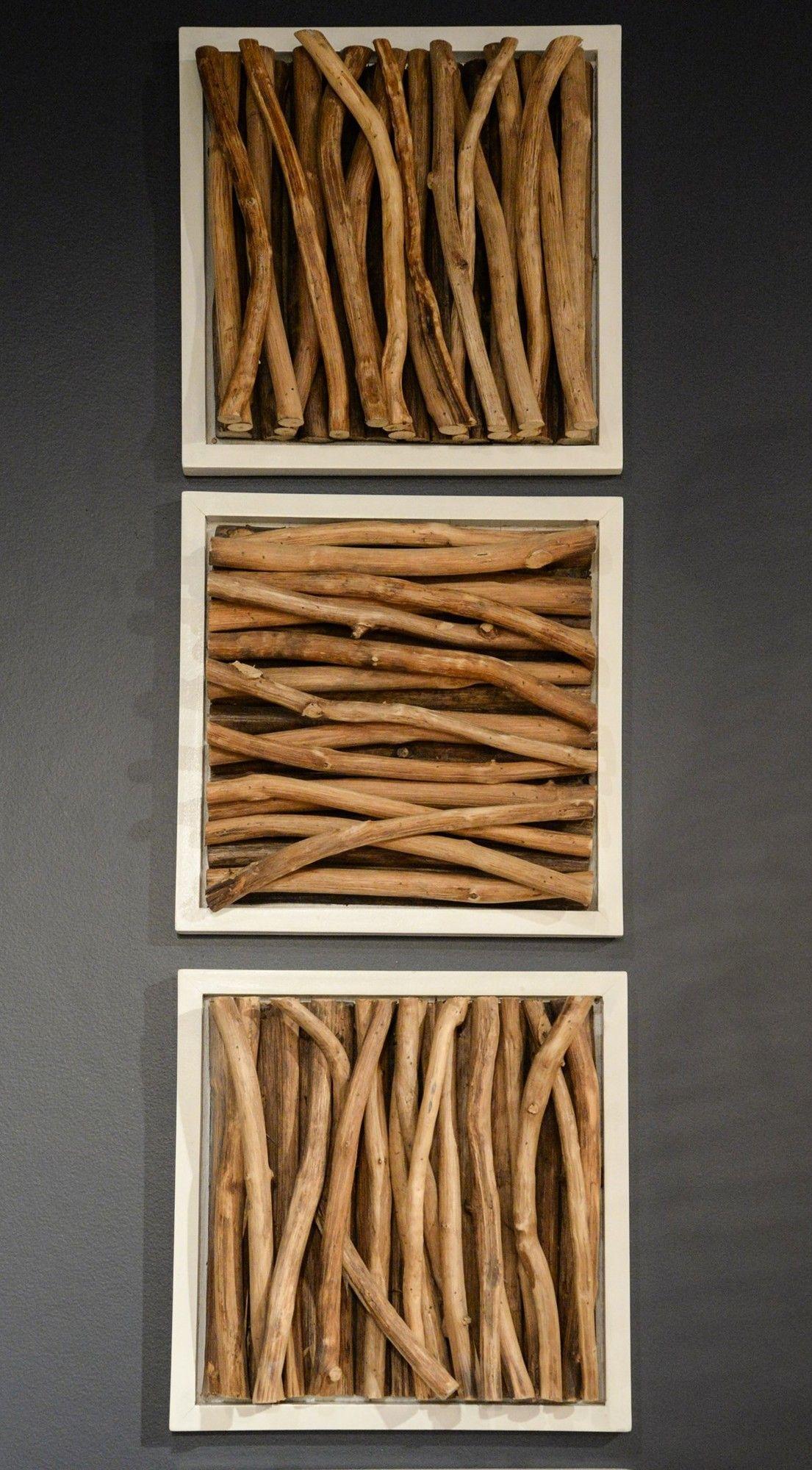 Jeffan Amandra Wood Stick Wall Decor Wood Stick Decor Wooden Wall Decor Wood Wall Decor