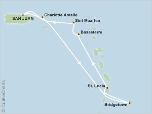 Southern Caribbean Cruise 2020.Carnival Valor 7 Night Southern Caribbean Cruise Itinerary
