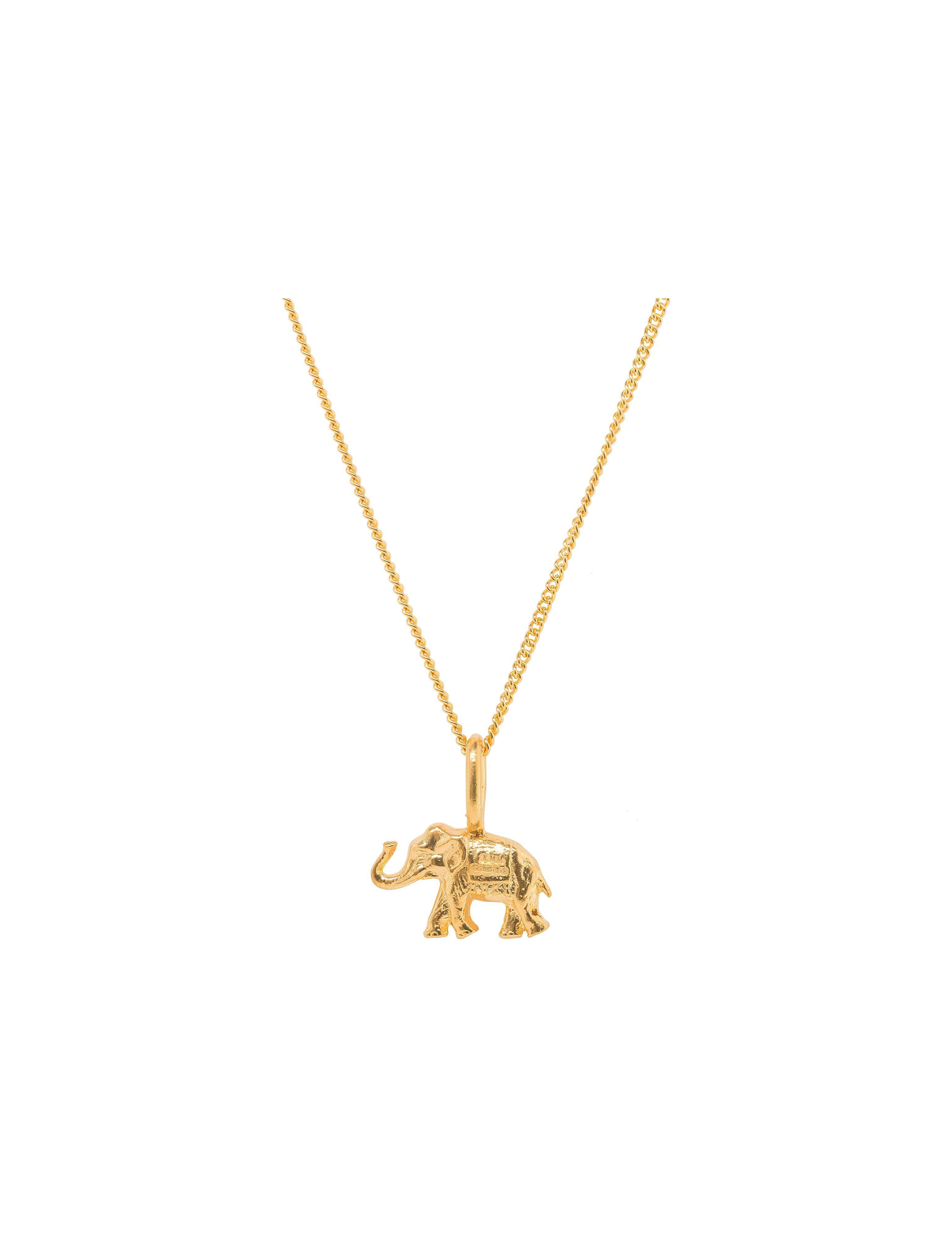 Katie Mullally Elephant Silver Charm YD6RyOeu