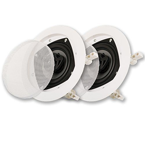 Acoustic Audio CSic42 In Ceiling Speaker Pair 2 Way Home Theater Speakers -- Check out this great product.Note:It is affiliate link to Amazon.