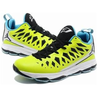 buy online 1b6db ca4dc www.asneakers4u.com Jordan CP3.VIX Chris Paul Shoes Fluorescent Green