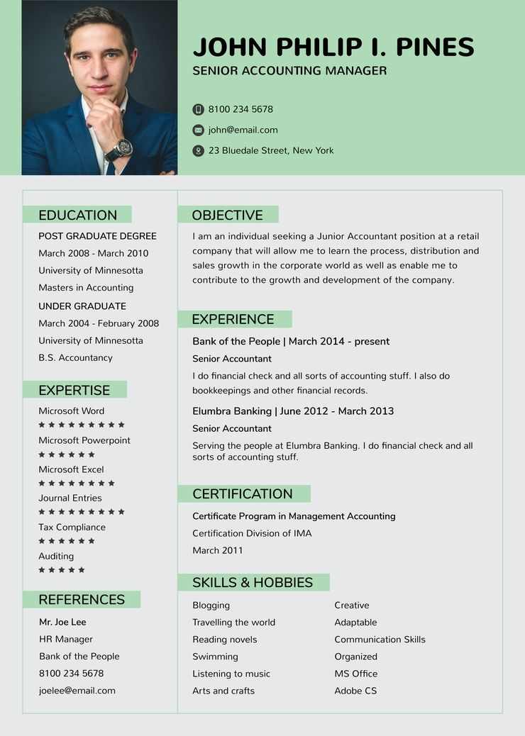 Free banking resume for experienced resume templates