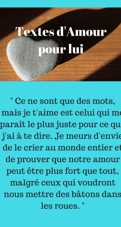 Textes D Amour Pour Son Copain 2018 Texte Amour Message Amour Amour Islam