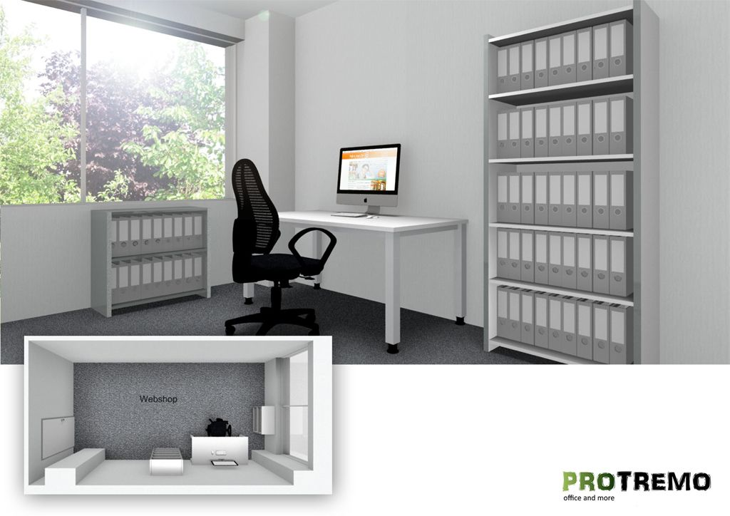 Büroplanung Büroraumplanung Büromöbel PROTREMO (mit