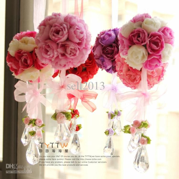 Wholesale artificial flower rose ball silk flower real touch rose wholesale artificial flower rose ball silk flower real touch rose ball home decorations for wedding party mightylinksfo