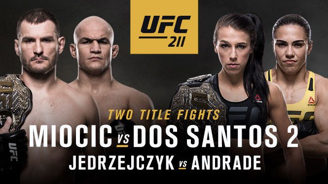 Ufc S First Legitimately Stacked Ppv Event Of The Year Is This Saturday Evening As Ufc 211 Miocic Vs Dos Santos 2 Rings Into Ufc Ufc Live Junior Dos Santos