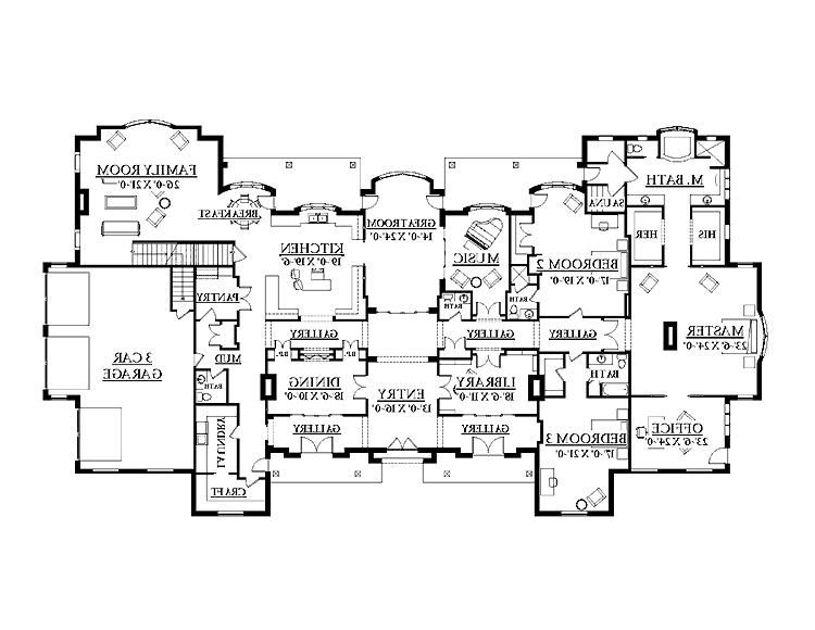 Classic French Chateaux Gallery Floor Plans Source Mon Chateau