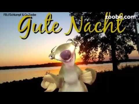 Ich Wünsche Dir Eine Gute Nacht Sid Ice Age Schlumpf Co