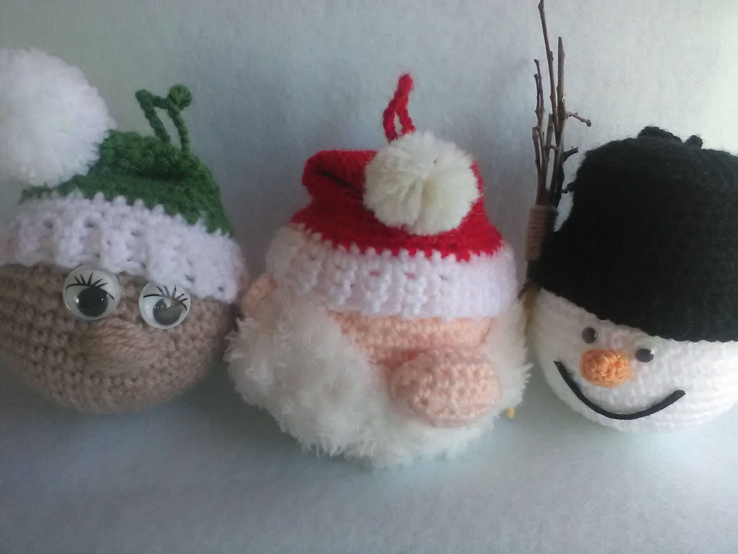 PALLINA DI NATALE RIVESTITA AD UNCINETTO ○ World Of Amigurumi - YouTube | 1944x2592