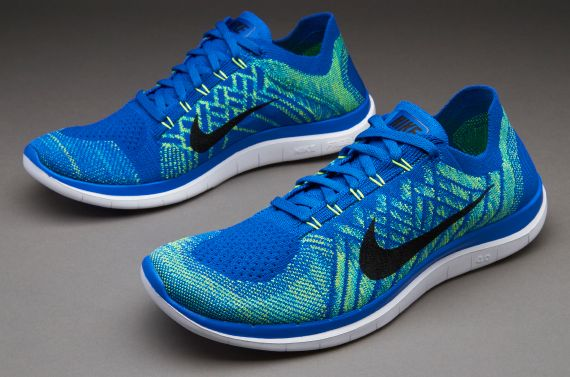 check out 71993 83cdb Nike Free 4.0 Flyknit - Game Royal Black Blue Hyper Jade