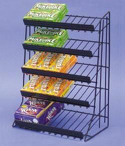 5 Tier Merchandise Counter Rack Wire Counter Display Racks
