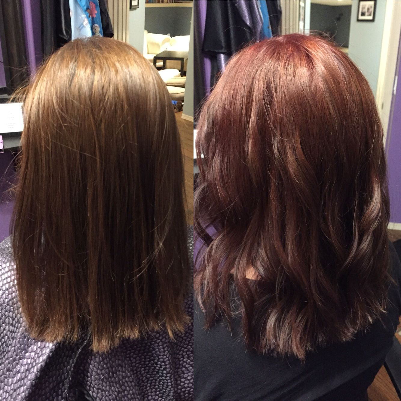 Wella Love 7 45 With 0 45 Beautiful Red And A Hint Of Brown 6 75 Coiffure