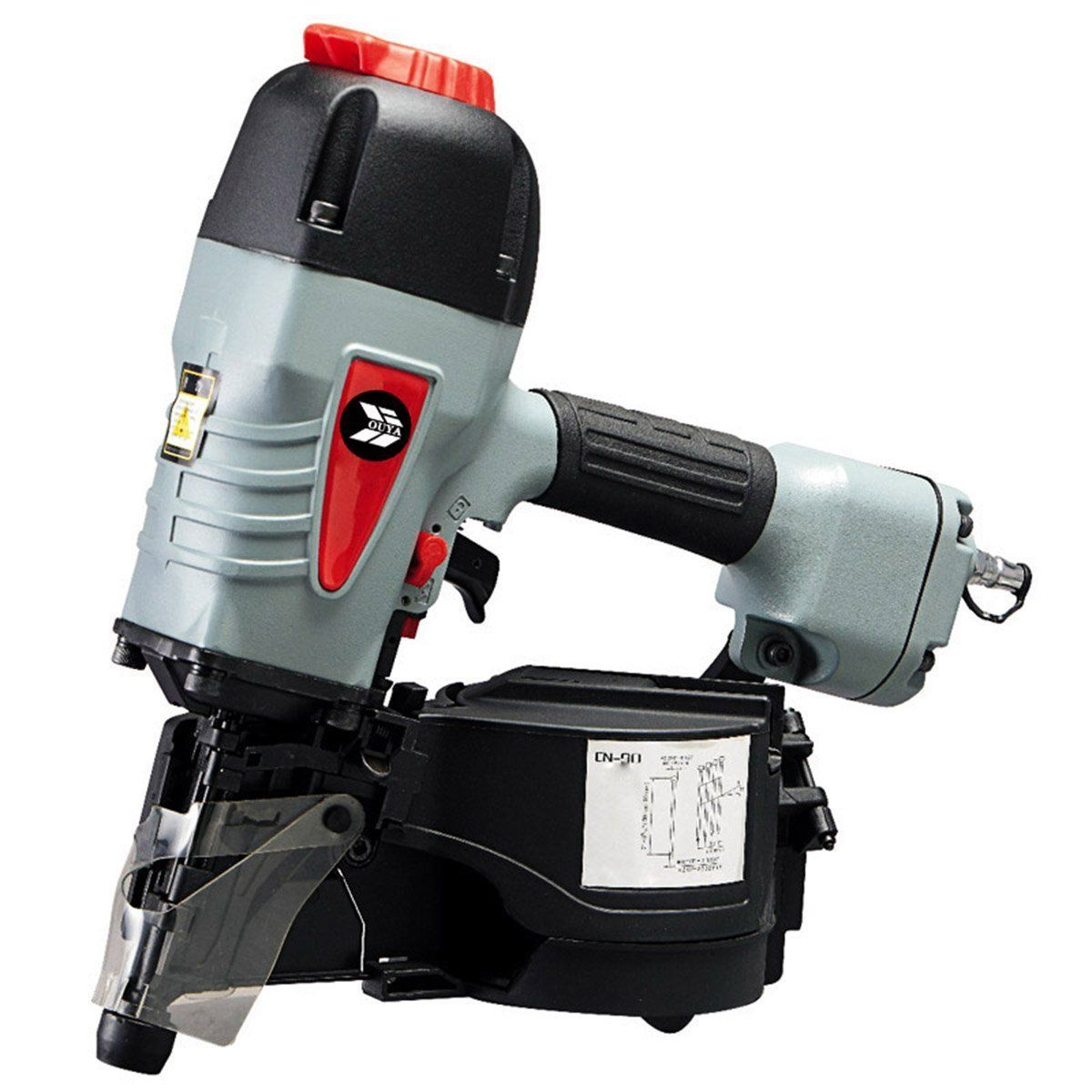Ouya Cn90 10 1 4 Gauge 3 1 2 Inches Air Coil Roofing Nailer Kit You Can Get Additional Details At The Image Link Roofing Nailer Coil Nailer Nailer