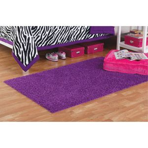 Your Zone Shag Rug In Hot Pink Thinking This Would Extend The Life