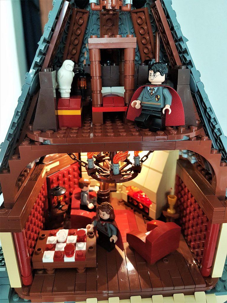 The Griffindor Tower Lego Hogwarts Lego Harry Potter Moc Harry Potter Lego Sets