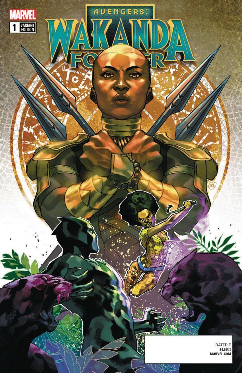 Marvel Comics BLACK PANTHER WORLD OF WAKANDA #1 first printing