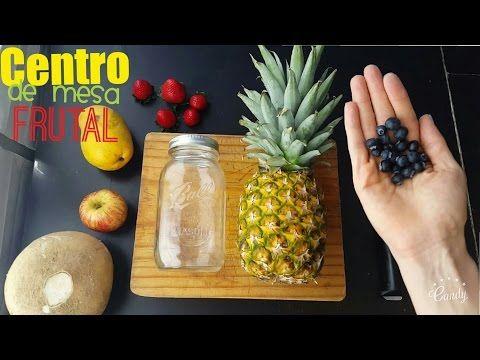 Centro de Mesa Frutal - YouTube