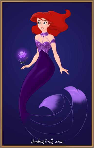 Birthstone Princess - February - Ariel by MaidenInTheWoods.deviantart.com on @DeviantArt