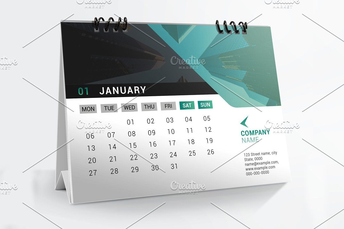 Desk Calendar 2020 V19 Desk Calendar Template Desk Calendars