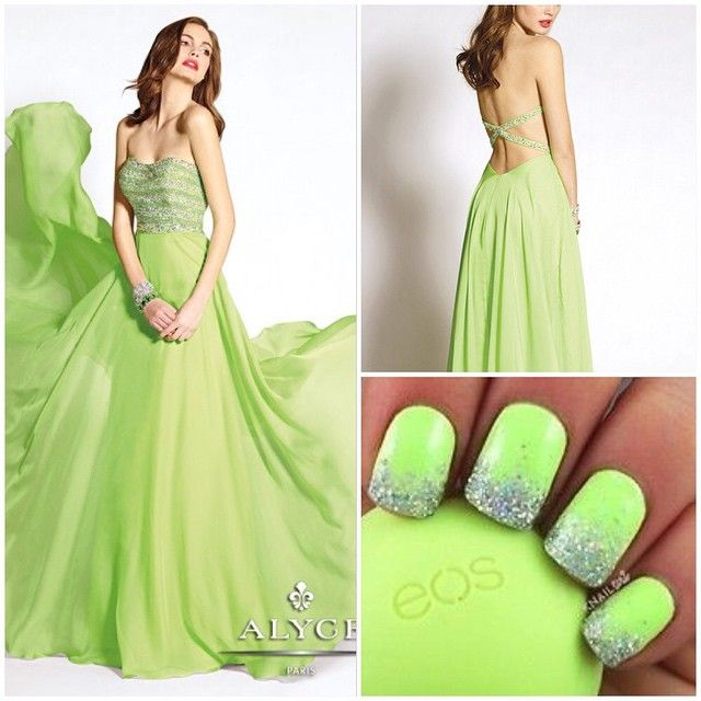 """#prom #prom2015 #prom2k15 #promdresses #alyce #alyceprom #alyceparispromdresses #formal #pageant #pageantdress #nails #glitter #sparkle #nailart #silver…"""