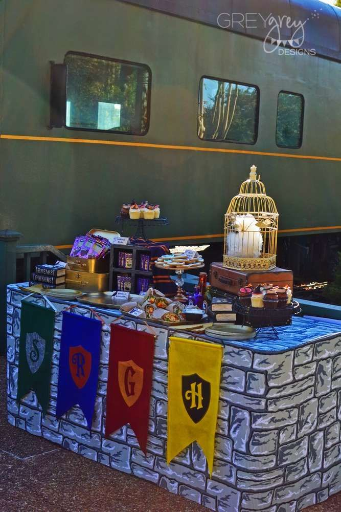 Harry Potter Birthday Party Ideas Photo 1 Of 69 Harry Potter