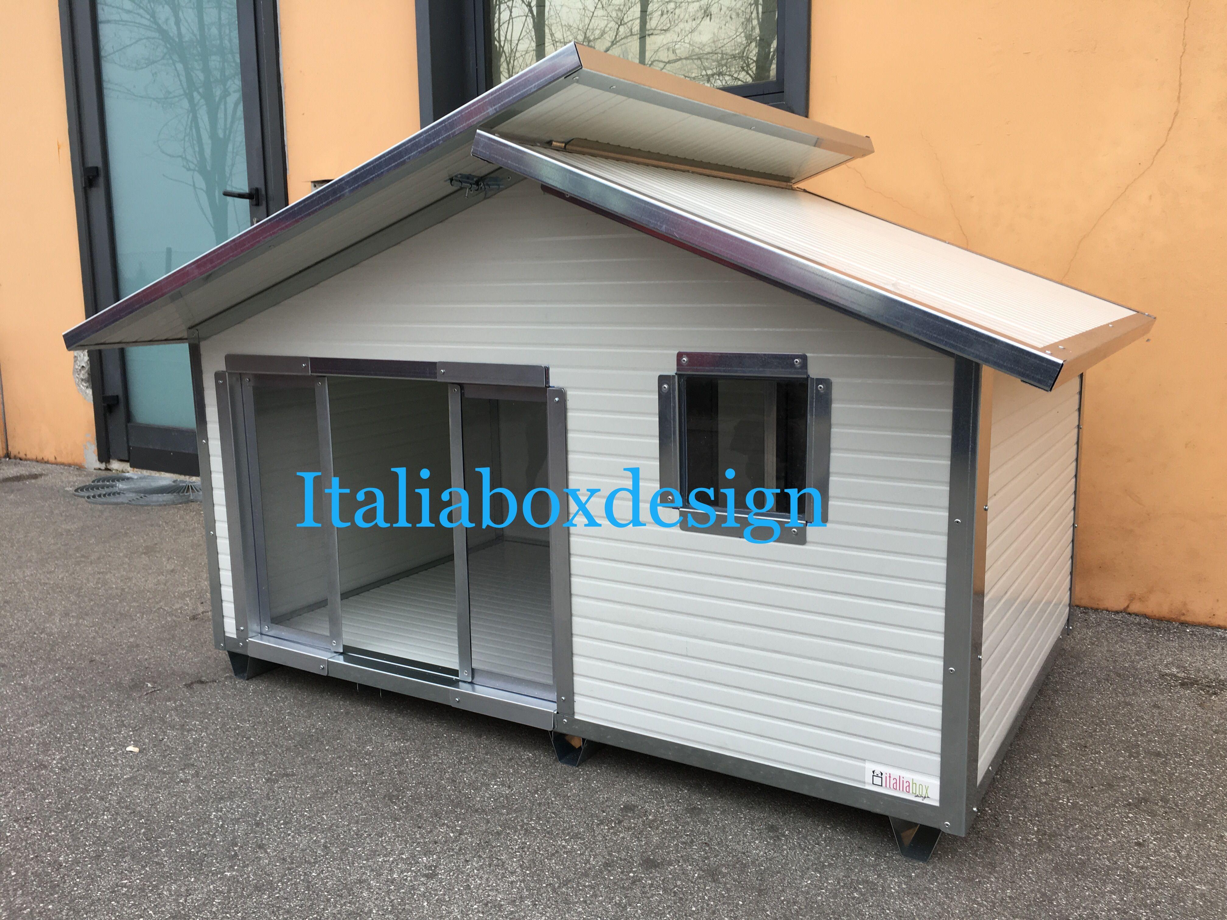 Cuccia per cani coibentata dog house pinterest cani for Costruire cuccia per cani coibentata