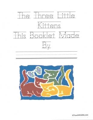 Booklet Three Little Kittens With Images Classroom Freebies
