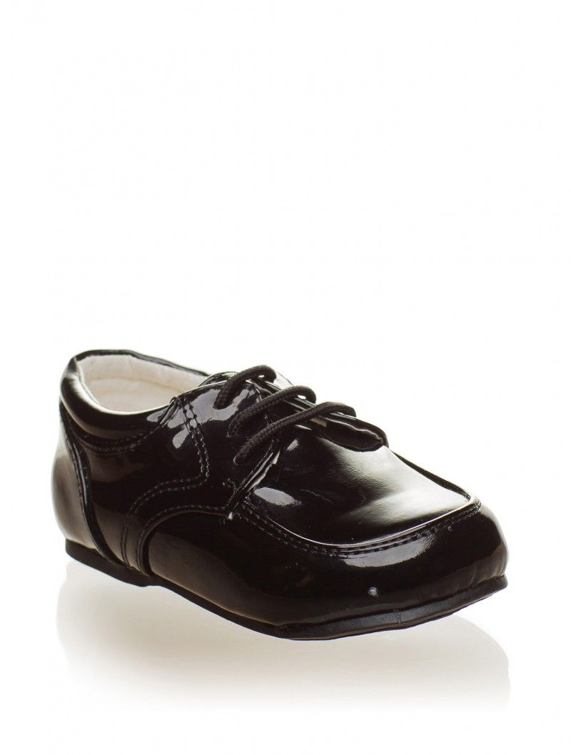 Baby Boys Black Formal Shoes | Baby