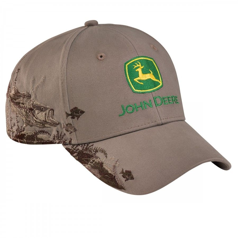 9e4fa355806 John Deere Dri Duck Bass Cap - Hats - Men s