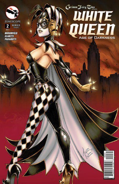 zenescope grimm fairy tales gif | Grimm Fairy Tales Presents: White Queen 1b (Zenescope Entertainment ...