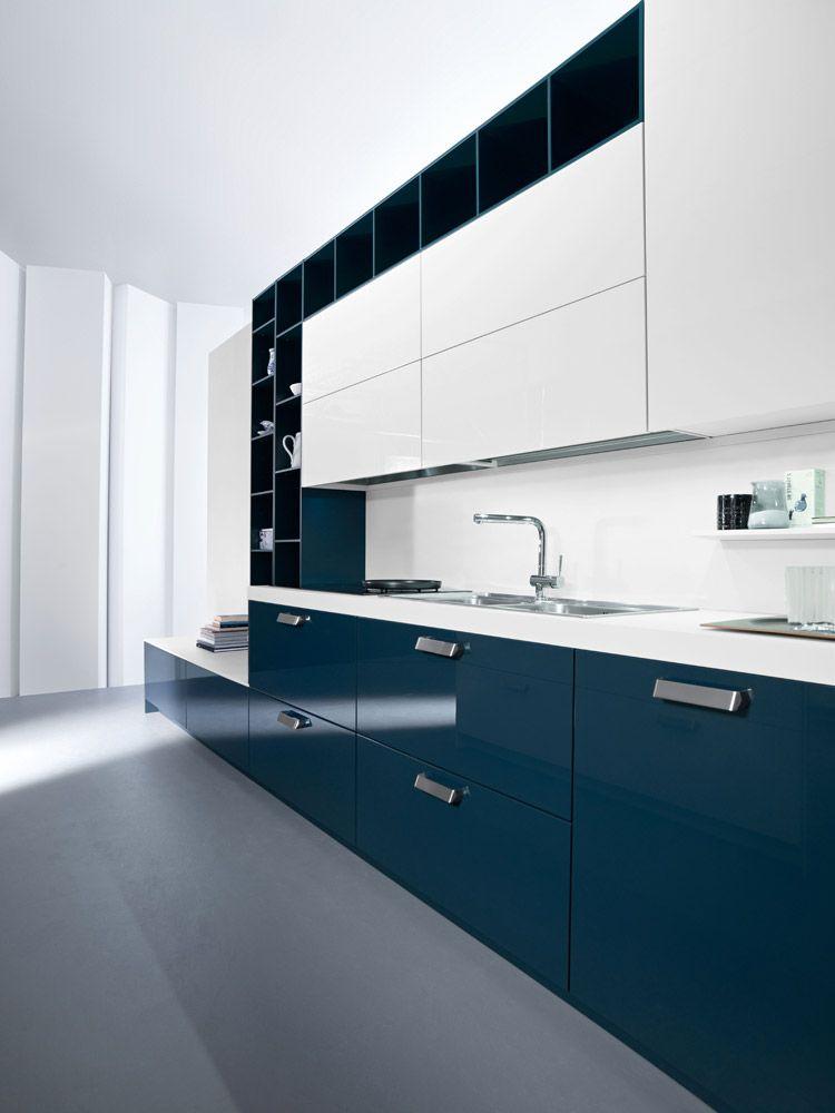 cucina color petrolio - Cerca con Google   Janis Kitchen   Pinterest ...