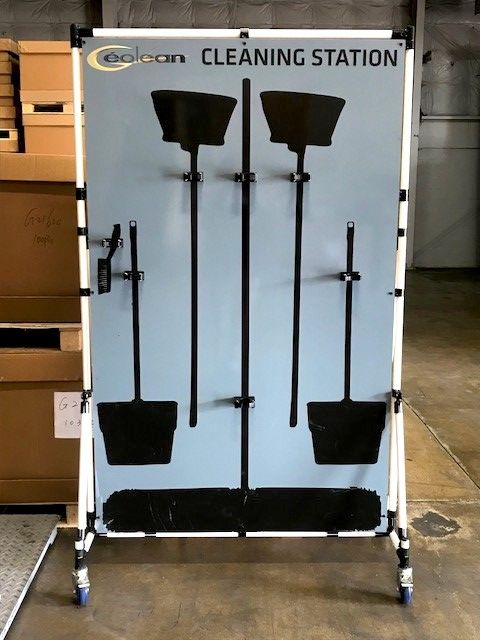Pvc Pipe Cart Holding One Of Our Shadow Boards Make Your