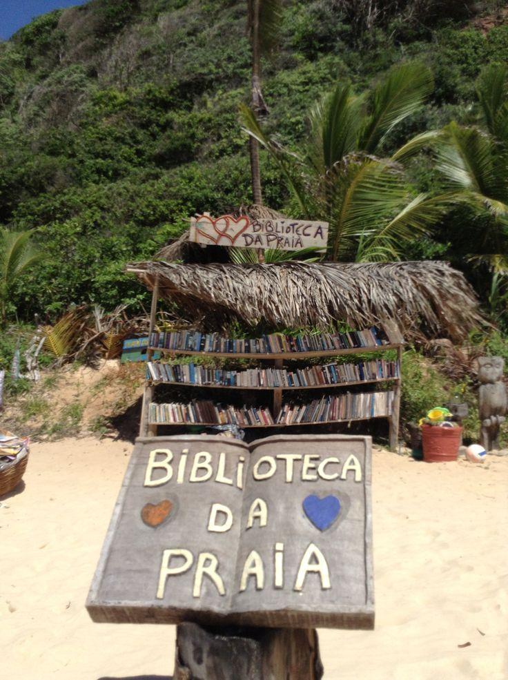Biblioteca da Praia - Pipa, Brasil