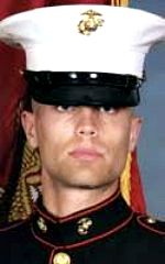 6-25-10= DAANE A. DEBOER, 24, Ludington, MI. USMC CPL. serving during Operation Enduring Freedom. Assigned to 1st Combat Engineer Battalion, 1st Marine Division, I Marine Expeditionary Force, Camp Pendleton, California. Died of injuries sustained when an improvised explosive device detonated near his position during combat operations in Helmand Province, Afghanistan.