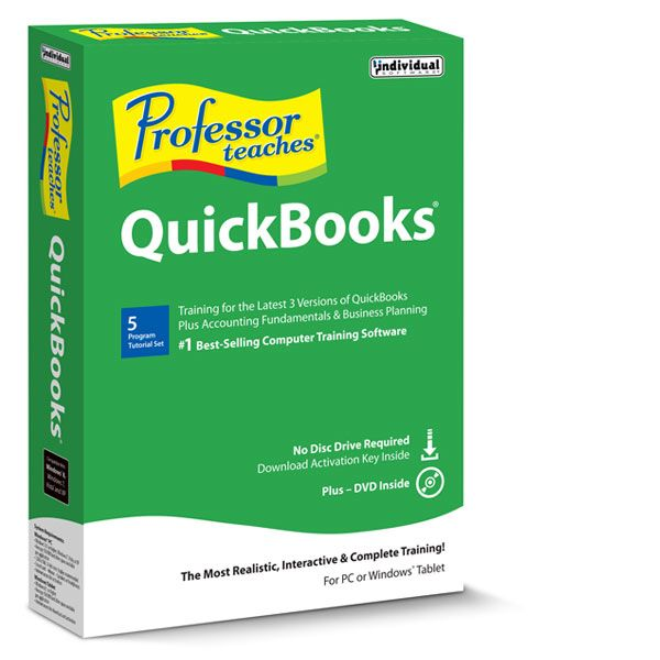 Learn Intuit QuickBooks 2015! It's So Easy! This Training