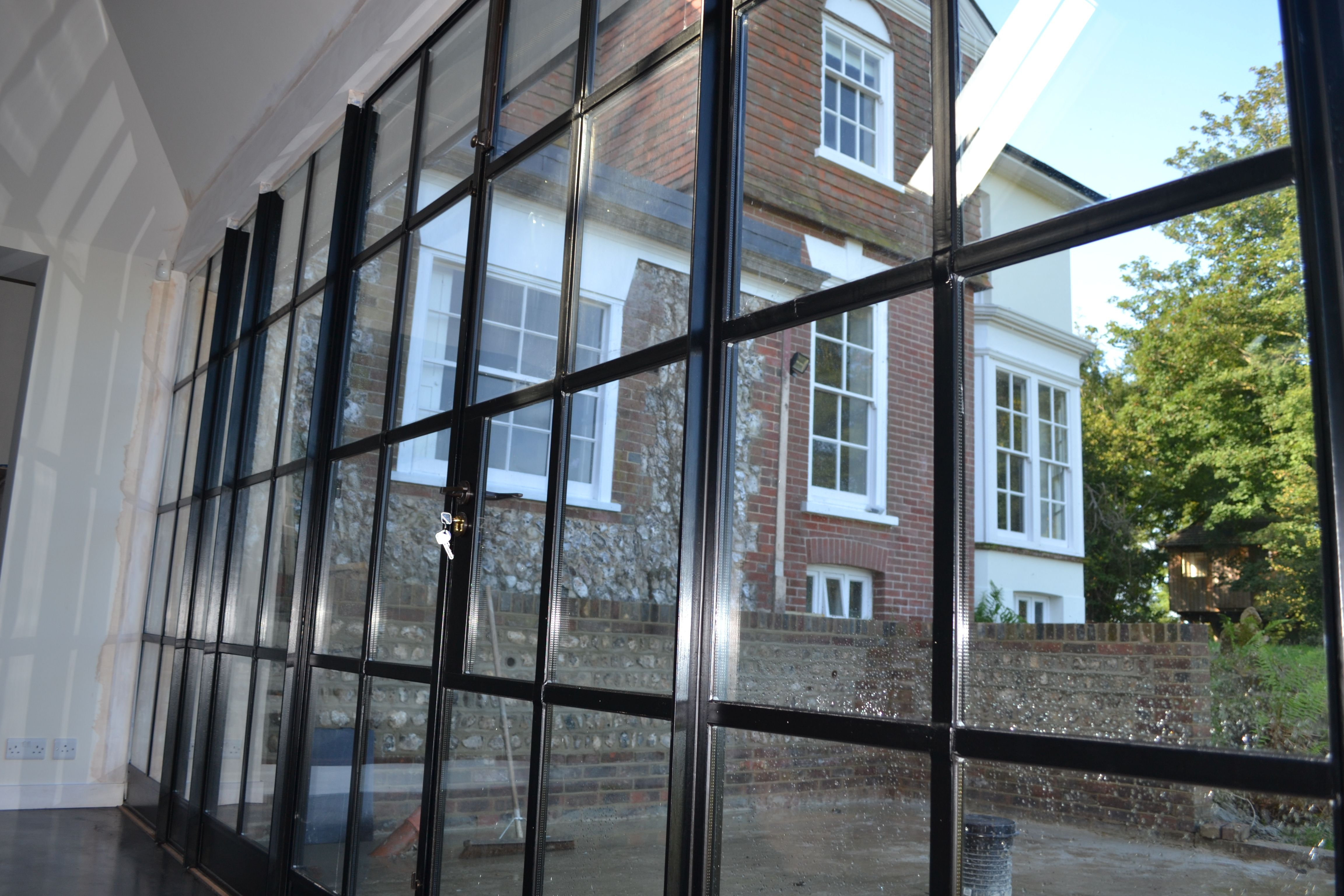 Lightfoot Windows (Kent) Ltd blending a new Crittall door screen with the original period & Lightfoot Windows (Kent) Ltd blending a new Crittall door screen ...