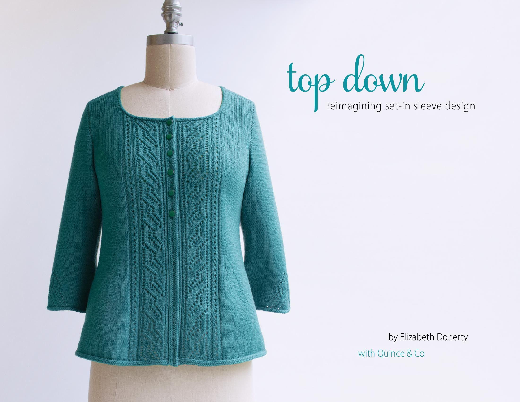 Вязание платье без швов