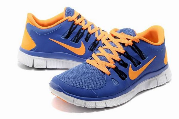 48209b15c006 Nike Free Run+ 5.0 Women s Running Shoes Royal Total Orange