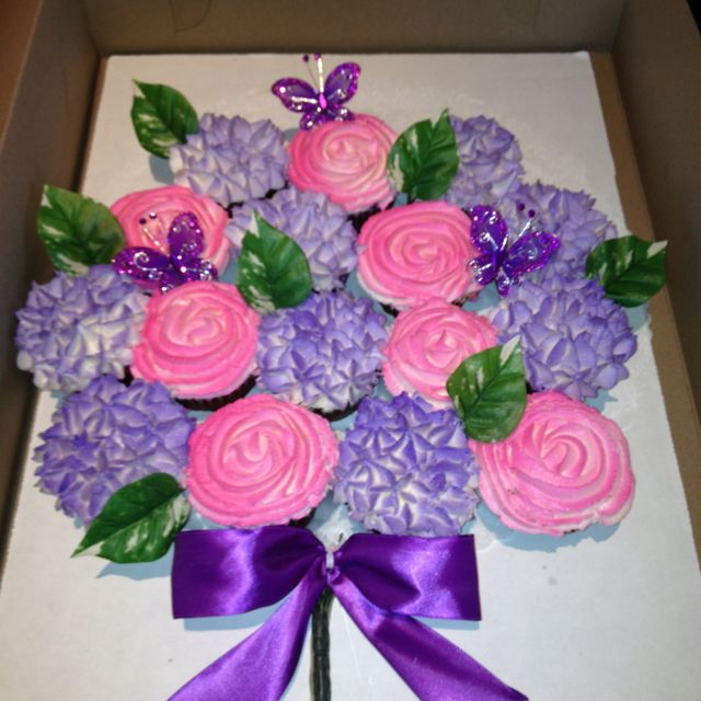Cupcake bouquet...Made with love <3