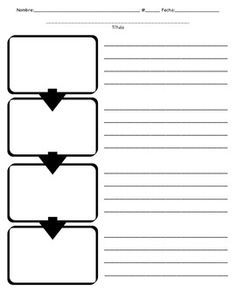 Flow Map With Images Graphic Organizers Flow Map School