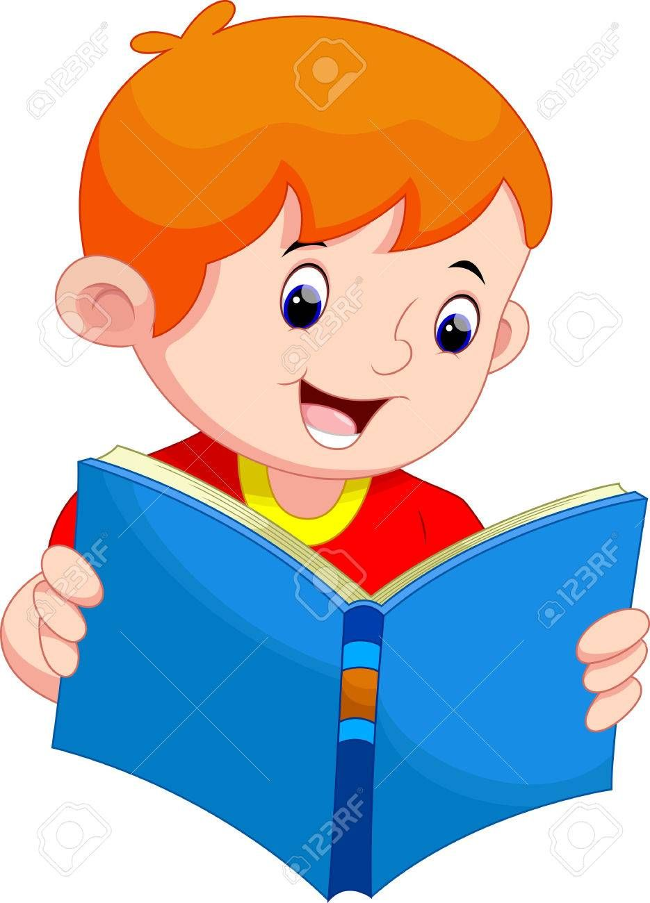 Nino Leyendo Un Libro Ninos Leyendo Dibujos Ninos Leyendo Actividades De Reciclaje Para Ninos