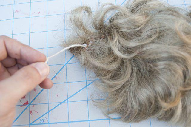 How to Make a Fake Beard With Household Items | eHow ... Old Man Fake Beard