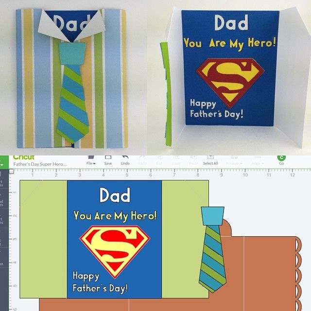 Father S Day Super Hero Card Fathers Day Father S Day Diy Fathers Day Crafts
