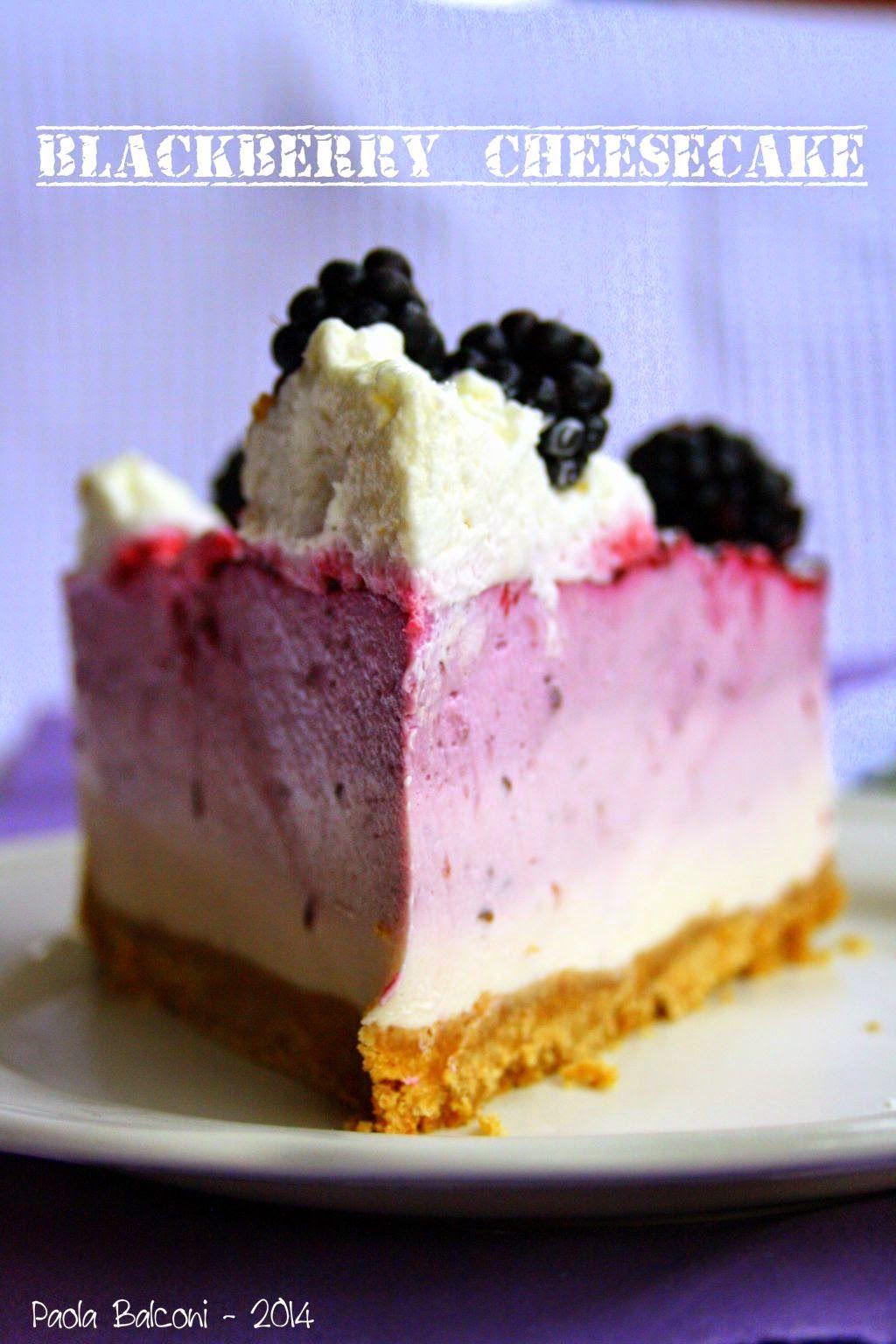 La cucina piccoLINA: Blackberry Cheesecake | Cheesecake ...