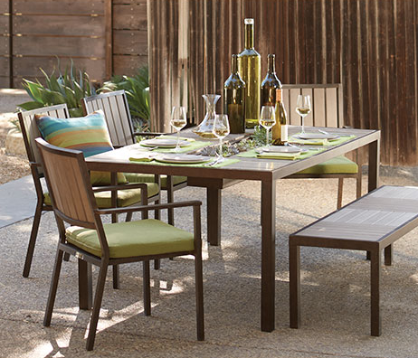 Patio Dining Set We Got From Osh, Orchard Supply Patio Furniture