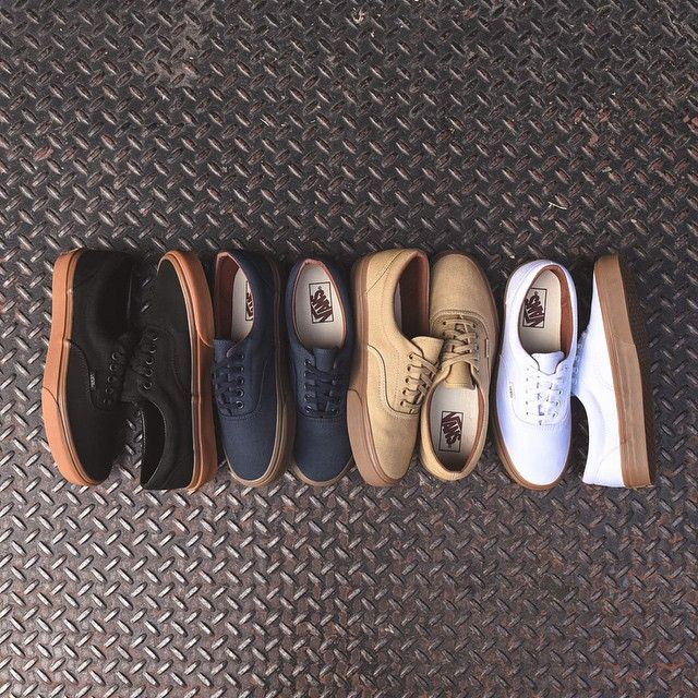 78f58378deb7c3 Vans Era Gum Sole Pack. Available now at Kith Manhattan and KithNYC.com.   45 USD.